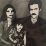 Sherin Shringar with her parents