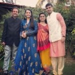 Shrenu Parikh with her family