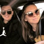 Simona Halep With Her Brother Nicolae Halep