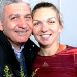 Simona Halep With Her Father Stere Halep