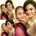 Sreemukhi With Her Sister Cherry