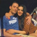 Trishala Dutt with her boyfriend