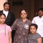 Vanitha Vijayakumar With Her Daughters