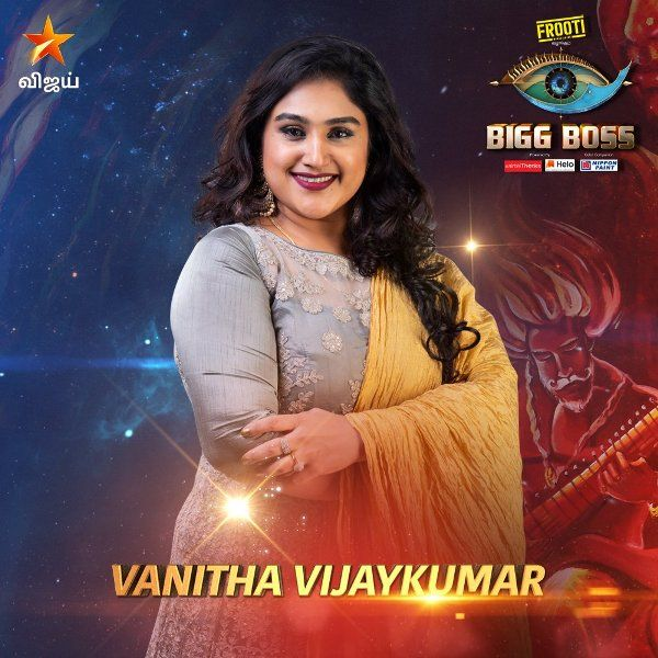 Vanitha Vijayakumar in Big Boss