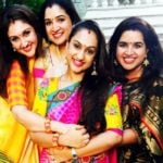 Vanitha Vijaykumar with her sisters