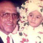 Vardhan Puri with Amrish Puri