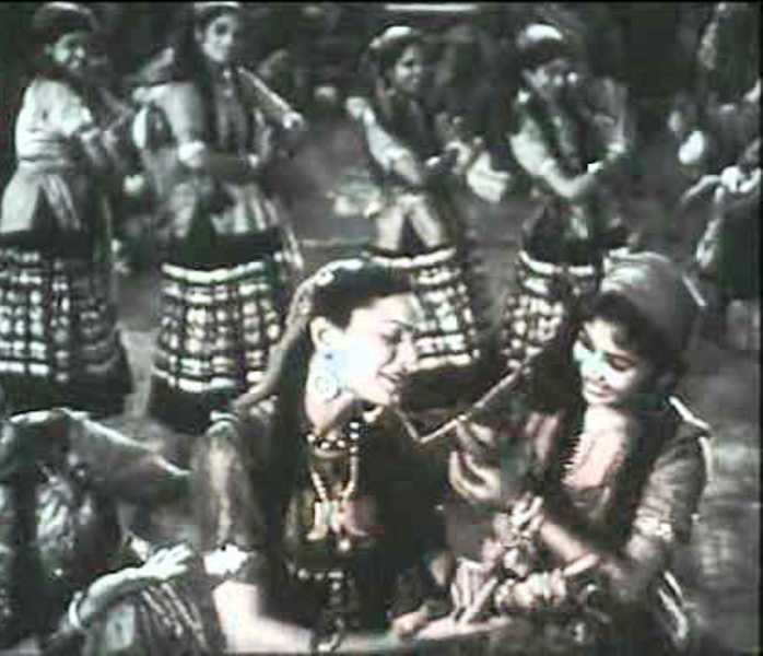 A Still From the Movie Mashaal