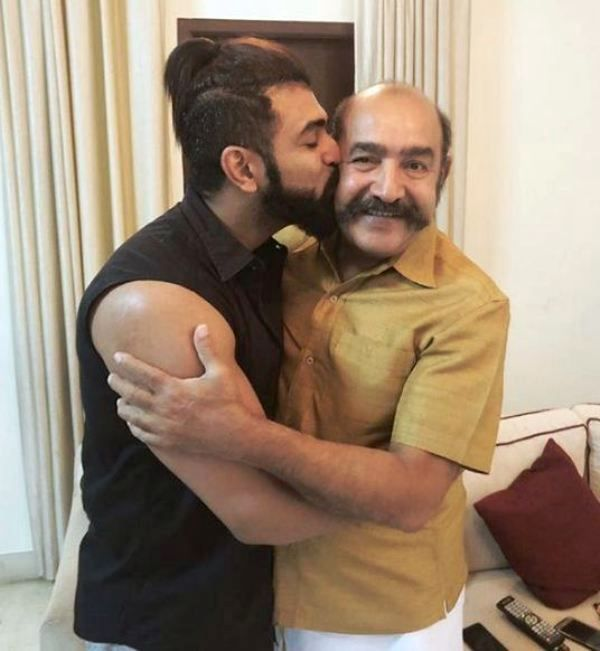 Arun Vijay with His Father