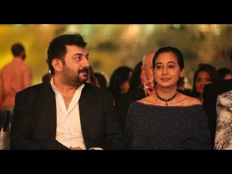 Arvind Swami With Aparna Mukerjee