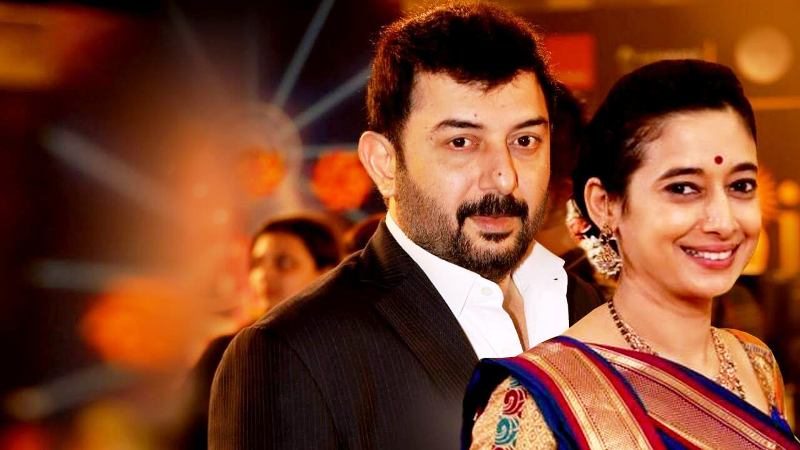 Arvind Swami with Second Wife Aparna Mukerjee