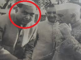 Girdhari Lal Dogra (in red circle), father of Sangeeta Jaitley
