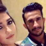 Hasan Ali with his wife Shamia Arzoo