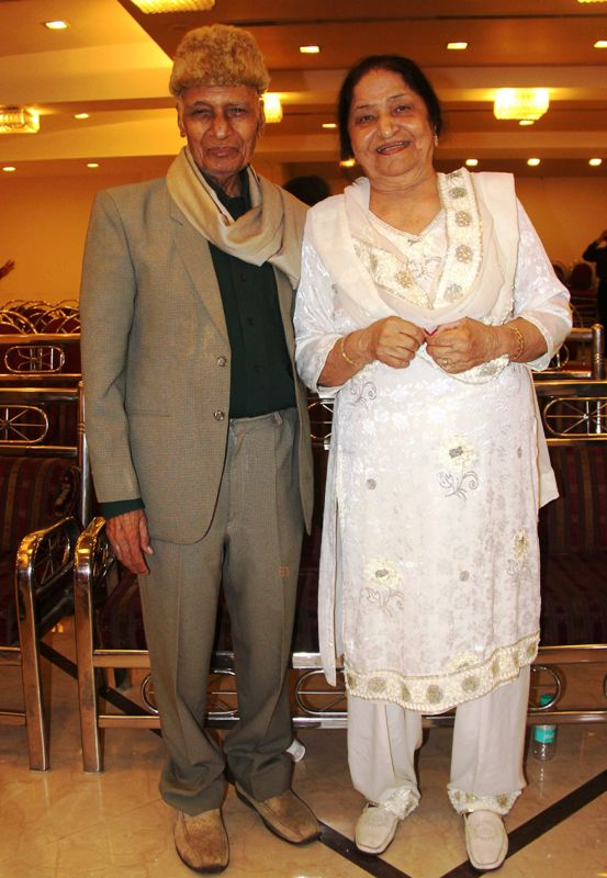 Jagjit Kaur With her Husband Khayyam