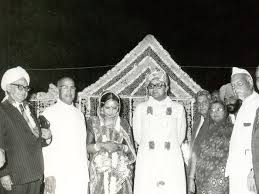 Marriage photo of Arun Jaitley