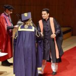 Momin Saqib at his Convocation