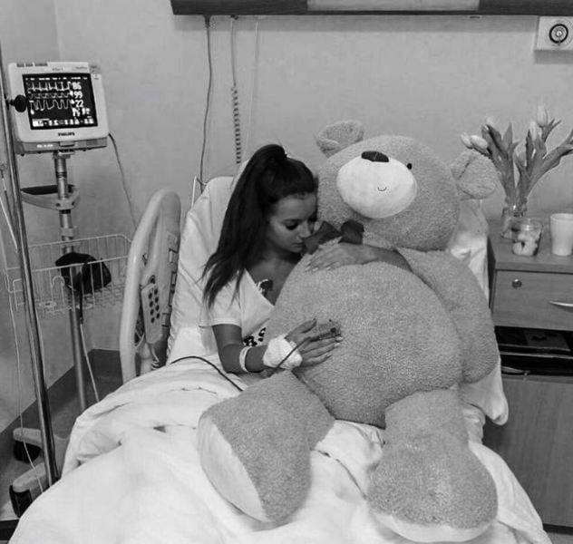 Natalia Janoszek hospitalised