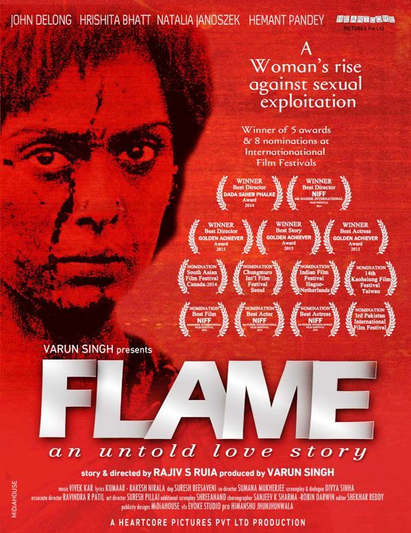 Natalia Janoszek in Bollywood movie- Flame