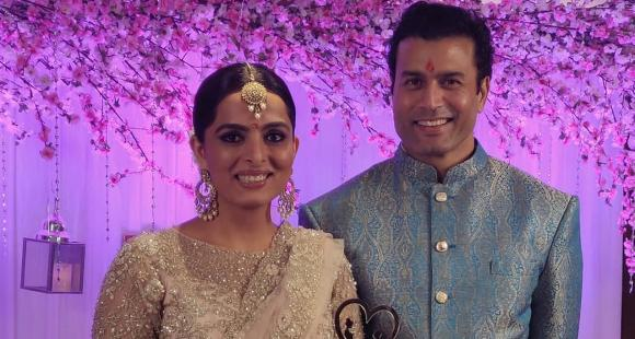 Ruhi Chaturvedi Engagement picture
