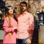 Shamia Arzoo with Hasan Ali