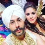 Alam Makkar with his Girlfriend Shraddha Arya