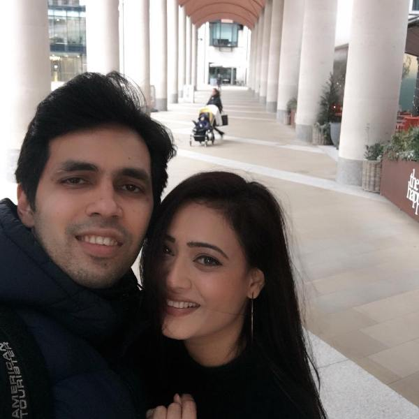 Shweta Tiwari with her brother Nidhaan