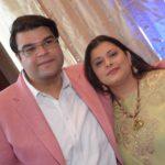 Sonali Jaitley with her husband, Jaiyesh Bakhshi