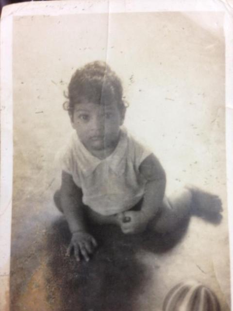 Subbaraju's childhood picture