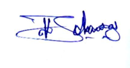 Thushar Vellappally's Signature