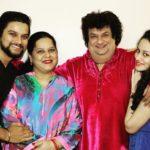 Urvashi Pardeshi with her Family