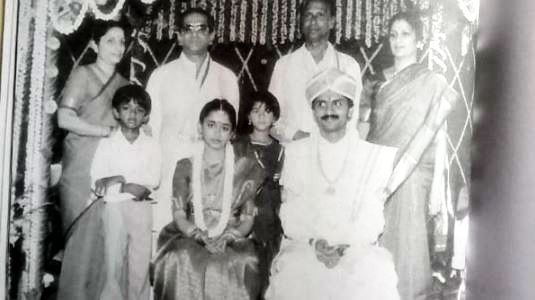 VG Siddhartha On His Marriage Day