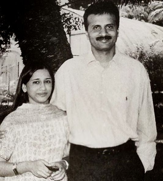 VG Siddhartha With His Wife Malavika