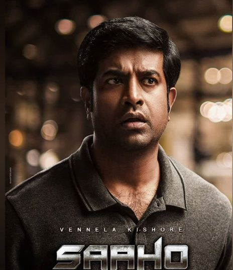 Vennela Kishore in the movie Saaho