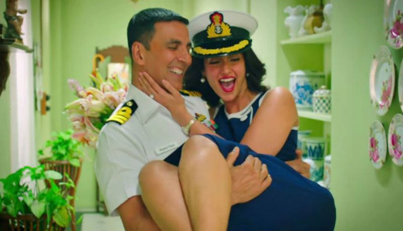 A Scene from the film Rustom