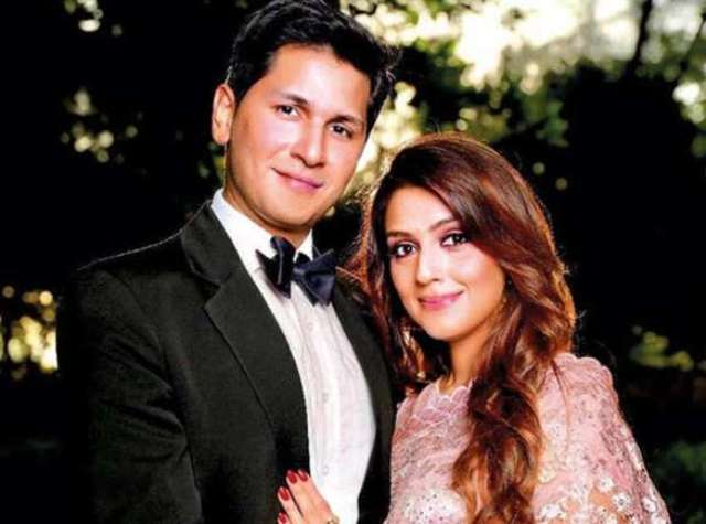 Aarti Chabria's engagement picture