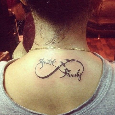 Devoleena Bhattacharjee's family tattoo