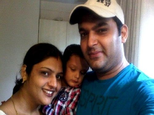 Kapil Sharma With His Sister Pooja Sharma