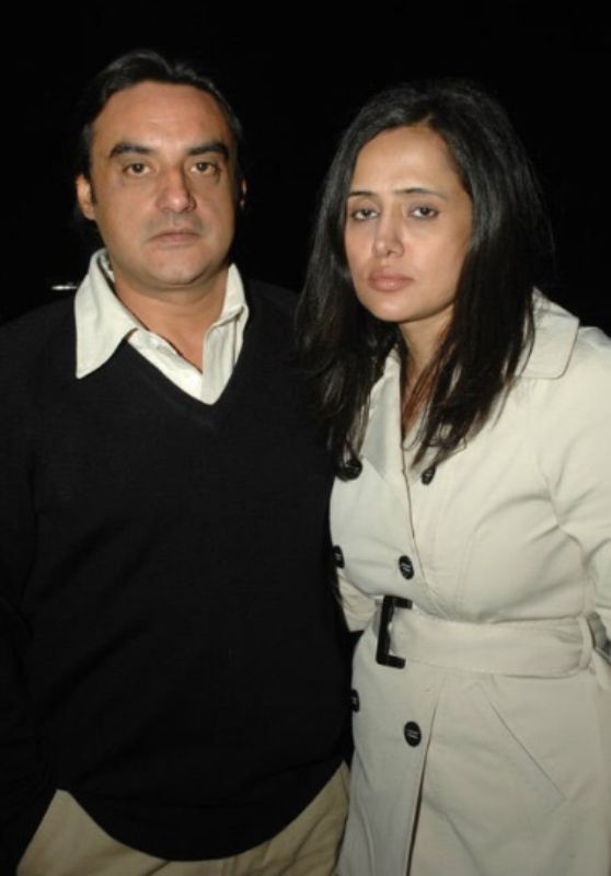 Mehr Tarar With Her Brother