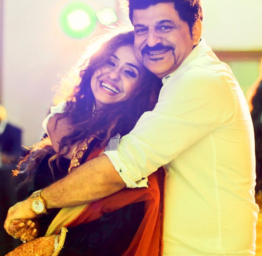 Rajesh Khattar with His Wife