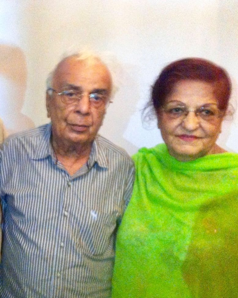 Rajesh Khattar's Parents