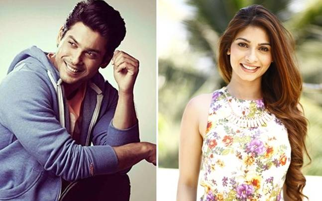 Siddharth Shukla and Tanishaa Mukerji
