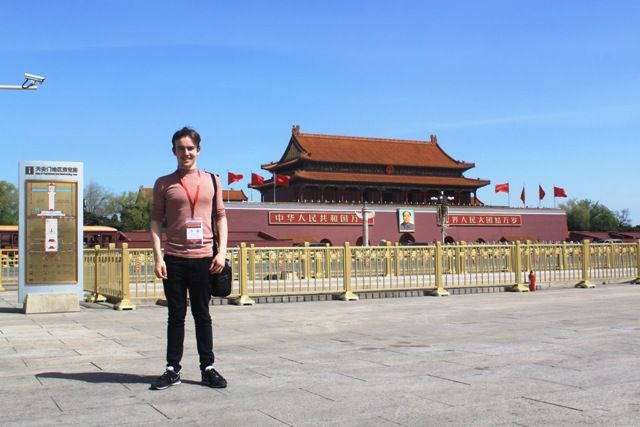 Cometan on his tour of China