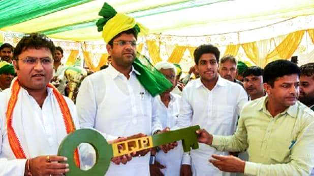 Dushyant Chautala on the day of formation of the JJP