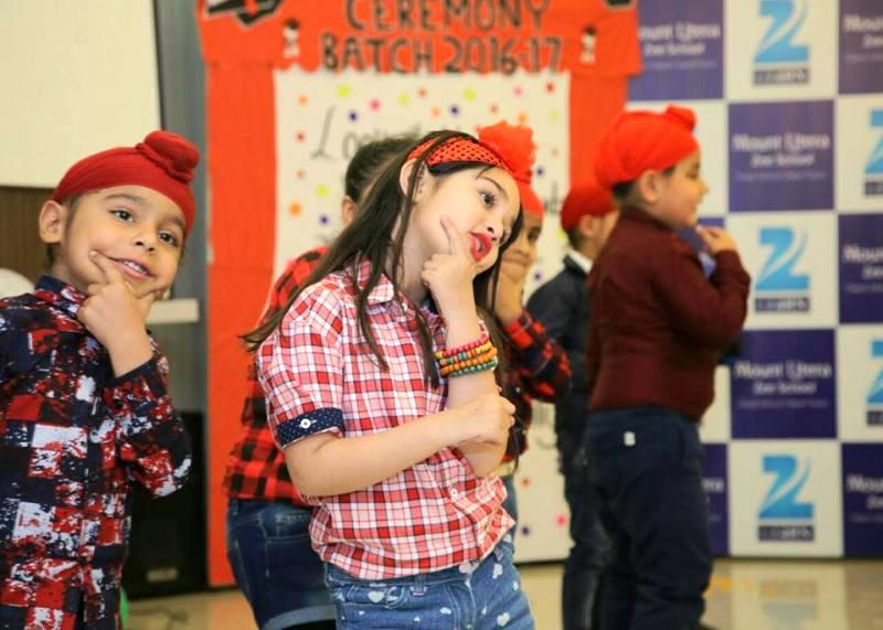 Maisha Dixit Performing in Her School