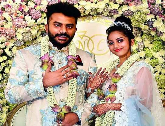 Chandan Shetty's engagement picture