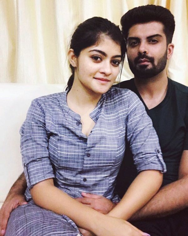 Prakruti Mishra with Her Boyfriend