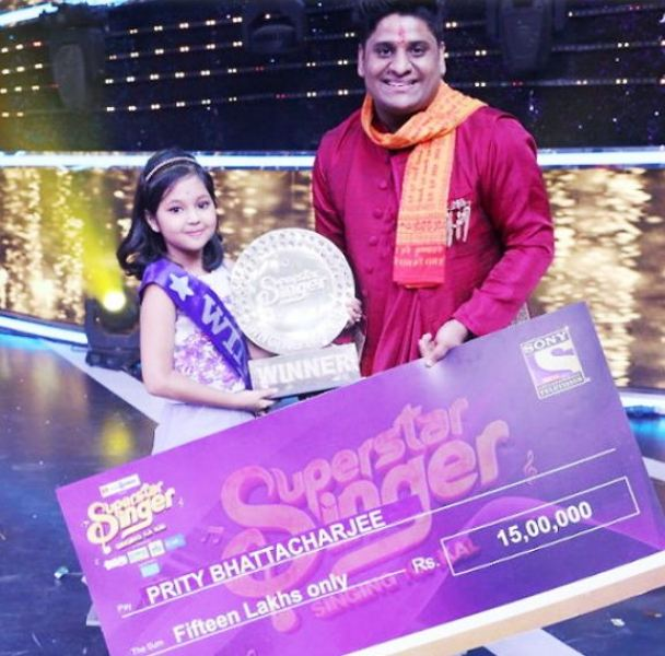 Prity Bhattacharjee with Her Mentor in the Show