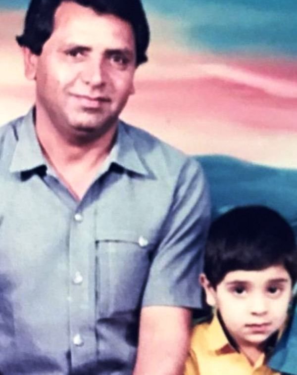 Tehseen Poonawalla's Father and Brother