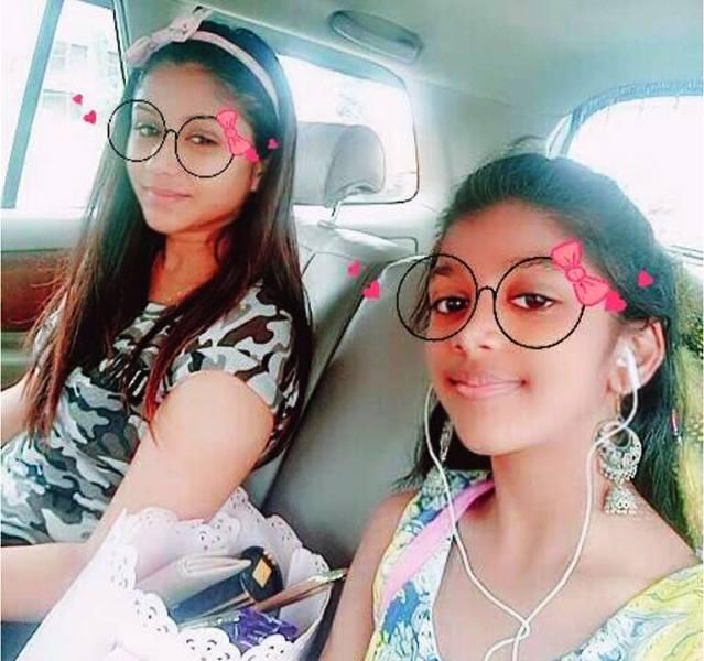 Alya Manasa with Her Sister- Janani