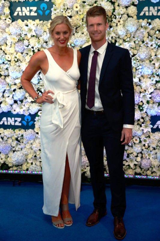 James Neesham With His Girlfriend Alex McLeod
