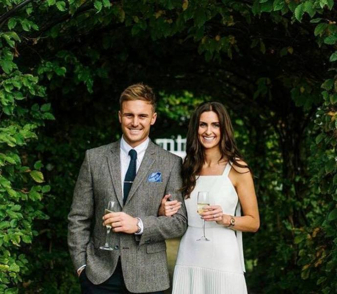 Jason Roy With His Wife Elle Moore aka Elle Winter
